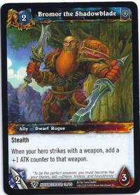 warcraft tcg class deck 2013 spring bromor the shadowblade cd