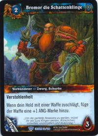 warcraft tcg crown of the heavens foreign bromor the shadowblade german