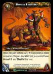 warcraft tcg war of the elements bronze emissary
