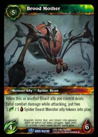warcraft tcg reign of fire brood mother