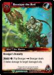 warcraft tcg foil hero cards broxigar the red
