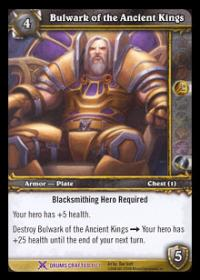 warcraft tcg crafted cards bulwark of ancient kings