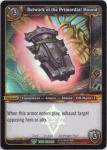 warcraft tcg foil and promo cards bulwark of the primordial mound foil