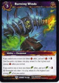 warcraft tcg twilight of the dragons burning winds