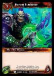 warcraft tcg war of the elements burom bladeseer