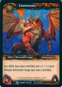 warcraft tcg twilight of dragons foreign caelestrasz french