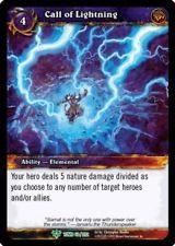 warcraft tcg foil and promo cards call of lightning