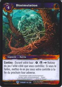 warcraft tcg twilight of dragons foreign camouflage french