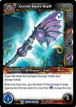warcraft tcg throne of the tides cerith spire staff