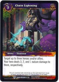 warcraft tcg class decks 2011 spring chain lightning cd