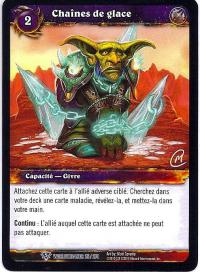 warcraft tcg worldbreaker foreign chains of ice french