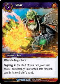 warcraft tcg throne of the tides char