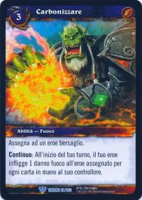 warcraft tcg throne of the tides italian char italian