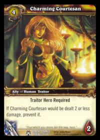 warcraft tcg black temple charming courtesan
