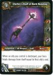 warcraft tcg twilight of the dragons chelley s staff of dark mending
