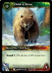 warcraft tcg war of the ancients child of ursoc