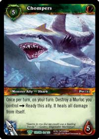 warcraft tcg throne of the tides chompers