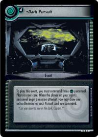 star trek 2e captains log dark pursuit foil