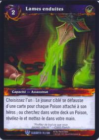 warcraft tcg war of the elements french coated blades french