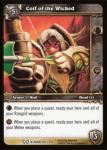 warcraft tcg the hunt for illidan coif of the wicked