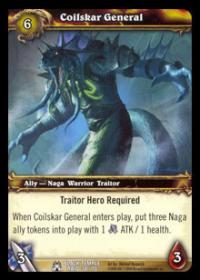 warcraft tcg black temple coilskar general