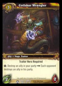 warcraft tcg black temple coilskar wrangler