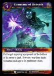warcraft tcg war of the elements command of undeath