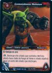 warcraft tcg twilight of dragons foreign commander molotov spanish