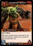 warcraft tcg twilight of the dragons commander molotov