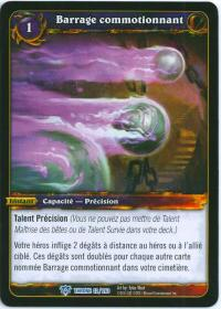warcraft tcg throne of the tides french concussive barrage french