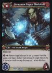warcraft tcg foil and promo cards conquerer kagon blackskull