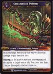 warcraft tcg worldbreaker contagious poison