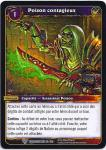 warcraft tcg worldbreaker foreign contagious poison french