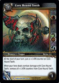 warcraft tcg molten core core hound tooth