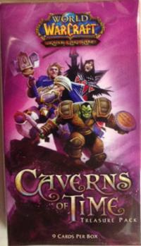 warcraft tcg warcraft sealed product caverns of time treasure pack