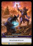 warcraft tcg extended art counterspell ea
