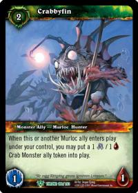 warcraft tcg throne of the tides crabbyfin