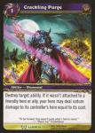 warcraft tcg archives crackling purge foil
