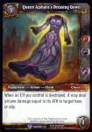 warcraft tcg crafted cards queen azshara s dressing gown