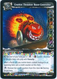 warcraft tcg feast of winter veil 12 crashin thrashin racer controller