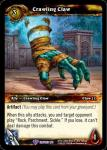 warcraft tcg crafted cards crawling claw