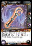 warcraft tcg war of the ancients crescent wand