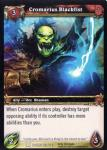 warcraft tcg archives cromarious blackfist foil