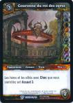 warcraft tcg crown of the heavens foreign crown of the ogre king french