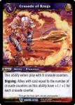 warcraft tcg betrayal of the guardian crusade of kings