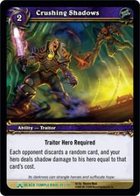 warcraft tcg black temple crushing shadows