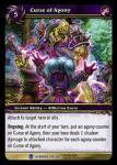 warcraft tcg heroes of azeroth curse of agony