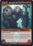 warcraft tcg foil and promo cards daedak the graveborne foil