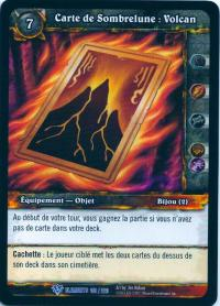 warcraft tcg war of the elements french darkmoon card volcano french