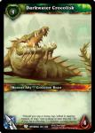 warcraft tcg betrayal of the guardian darkwater crocolisk